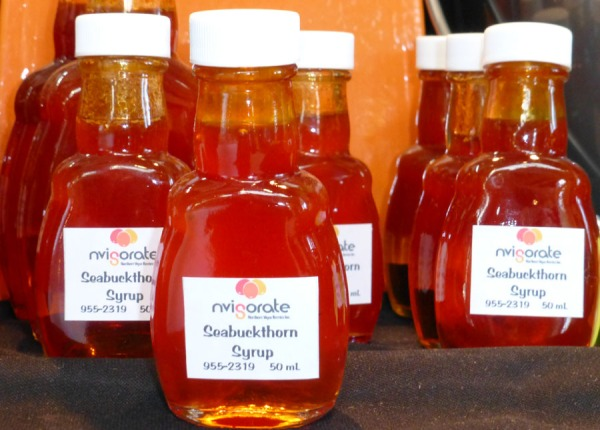 Seabuckthorn syrup