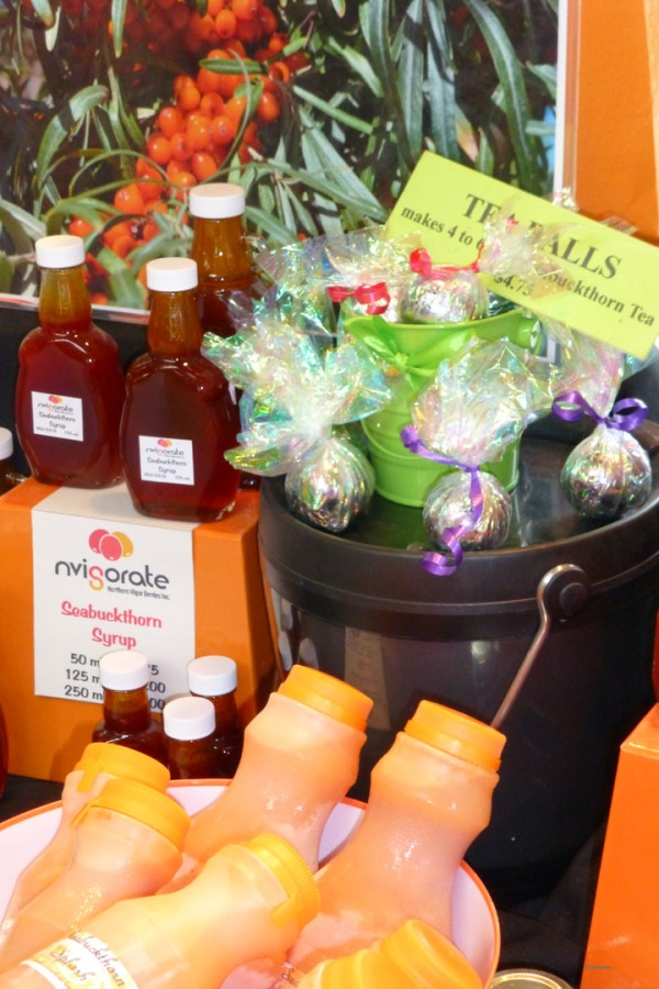 nvigorate booth - seabuckthorn