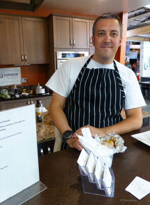 Chef Simon Reynolds